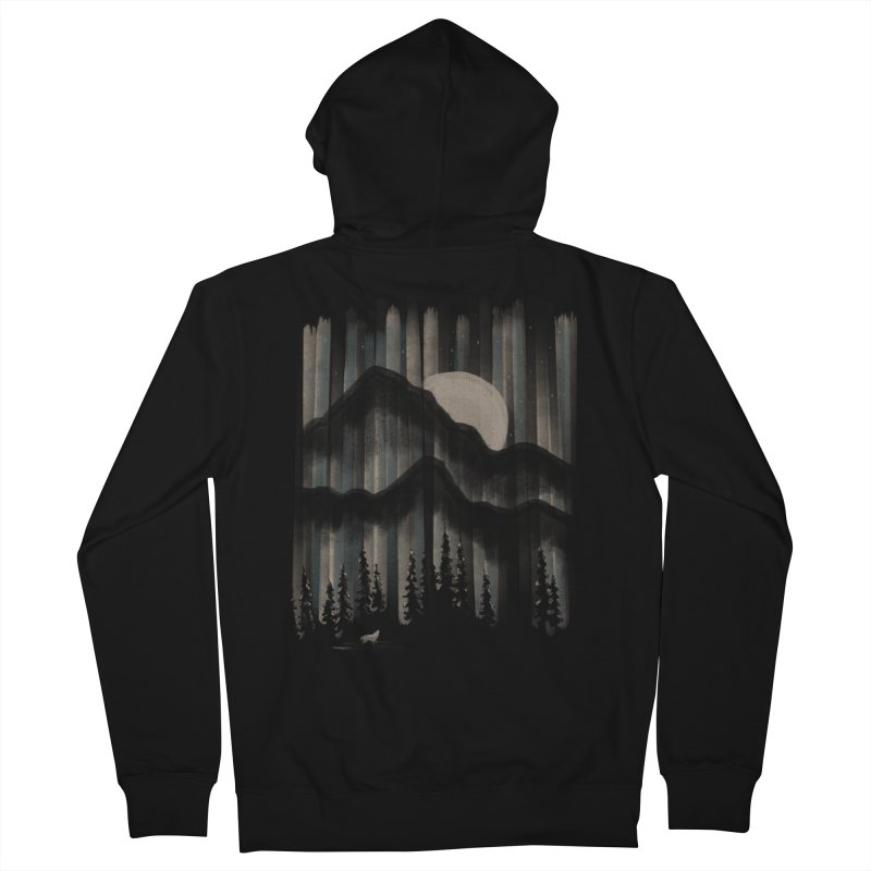 A Wolf in the Night... Women's Zip-Up Hoody by NDTank's Artist Shop