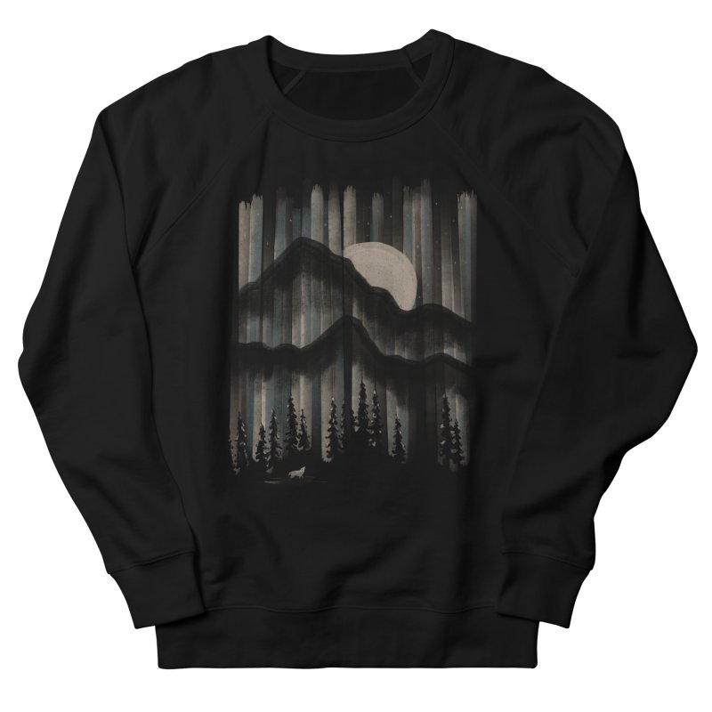 A Wolf in the Night... Women's Sweatshirt by NDTank's Artist Shop