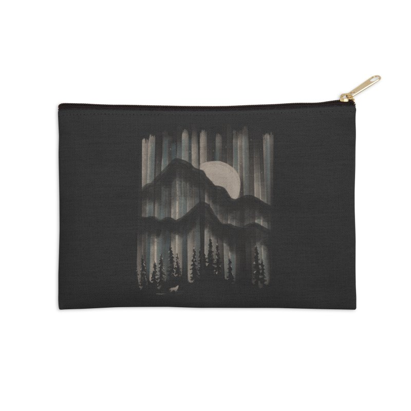 A Wolf in the Night... Accessories Zip Pouch by NDTank's Artist Shop