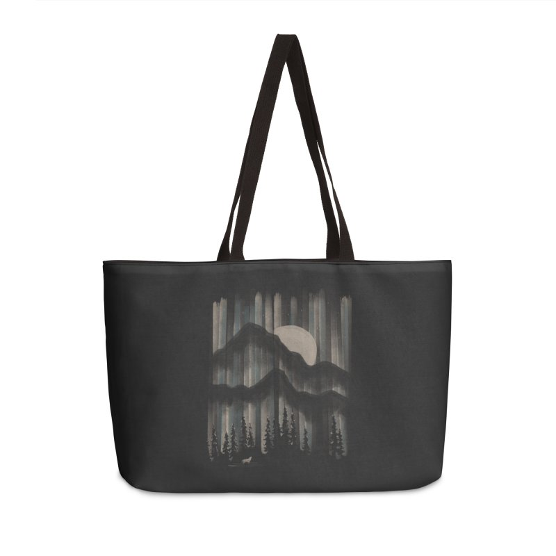 A Wolf in the Night... Accessories Bag by NDTank's Artist Shop