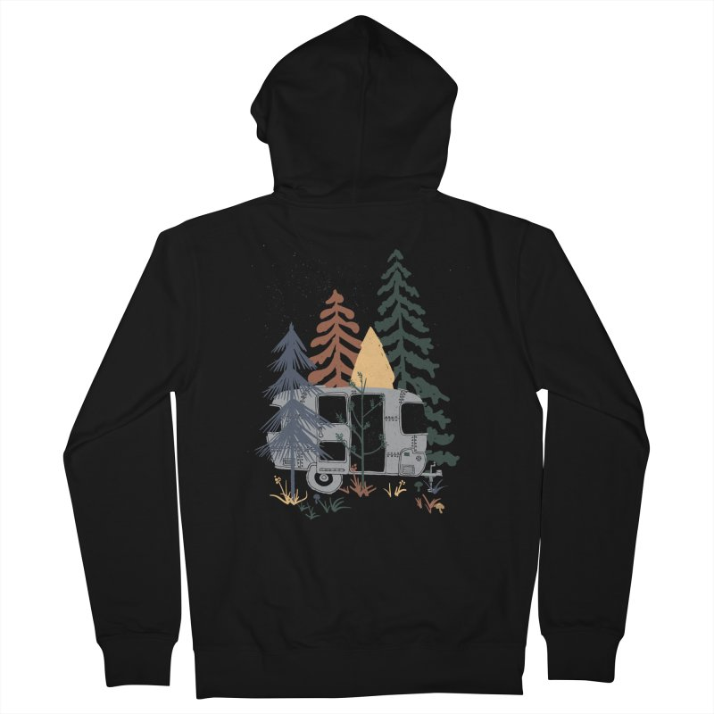 Wild Airstream... Women's Zip-Up Hoody by NDTank's Artist Shop