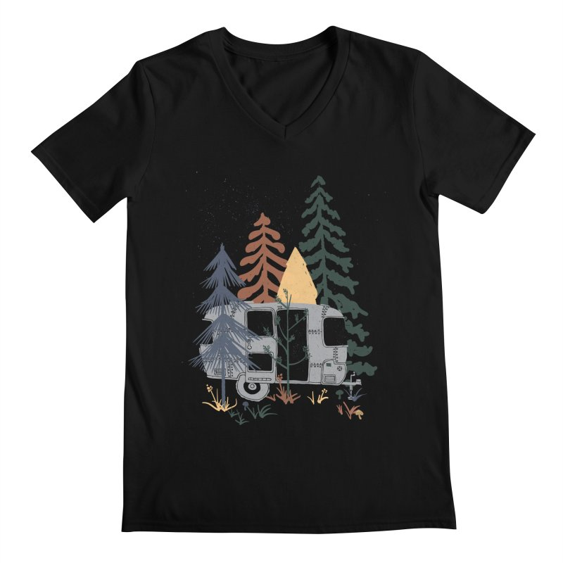 Wild Airstream... Men's V-Neck by NDTank's Artist Shop