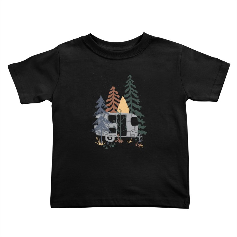 Wild Airstream... Kids Toddler T-Shirt by NDTank's Artist Shop