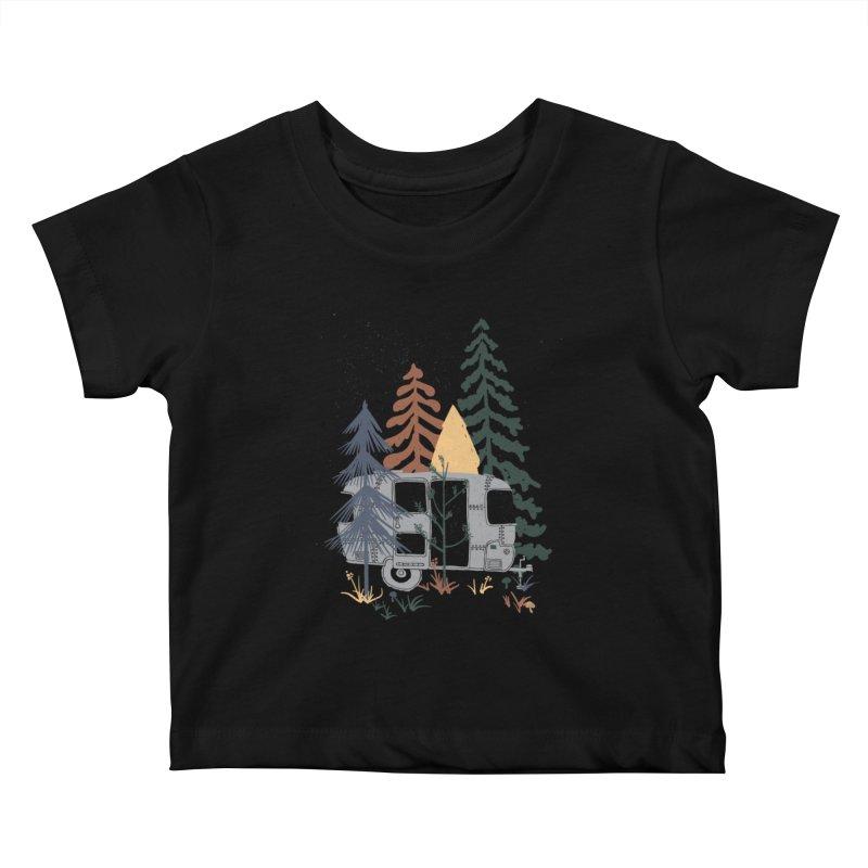 Wild Airstream... Kids Baby T-Shirt by NDTank's Artist Shop