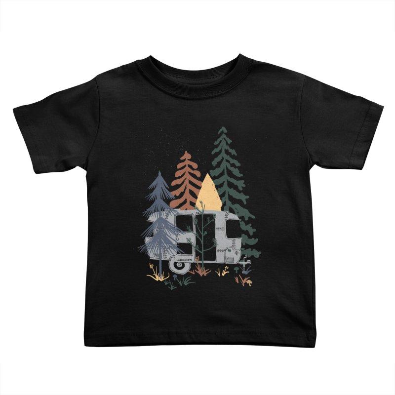Wild Airstream... Kids Toddler T-Shirt by NDTank's Artist Shop