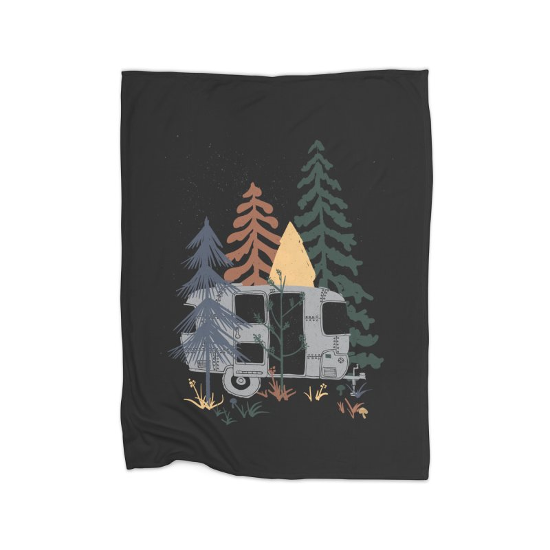 Wild Airstream... Home Blanket by NDTank's Artist Shop