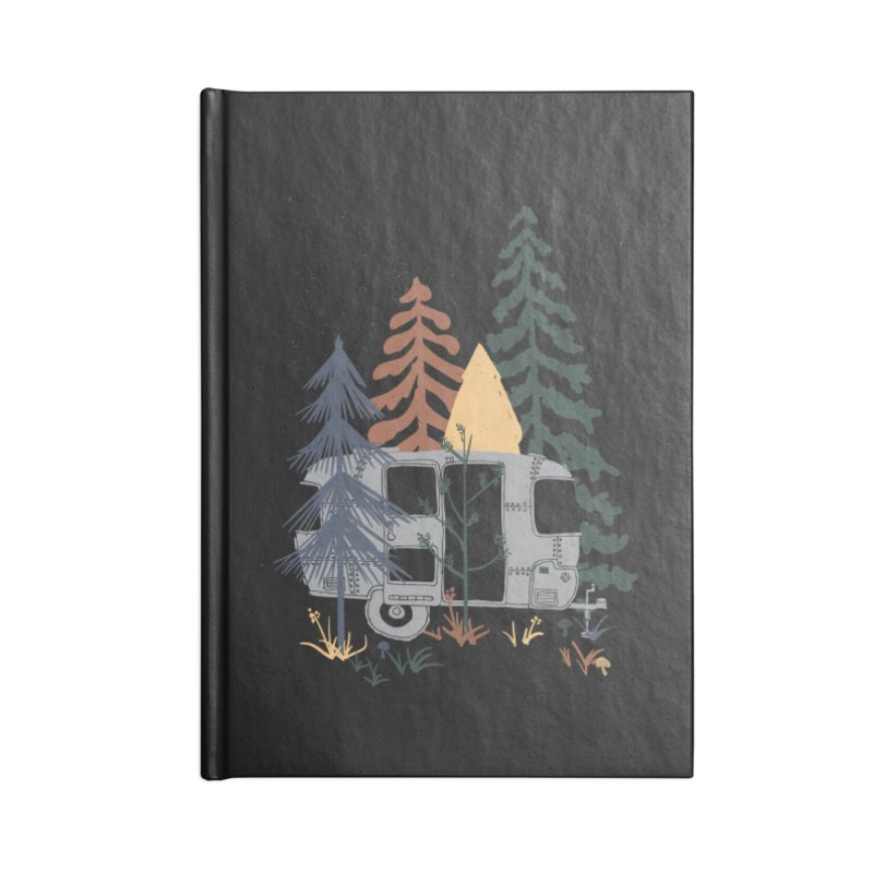 Wild Airstream... Accessories Notebook by NDTank's Artist Shop
