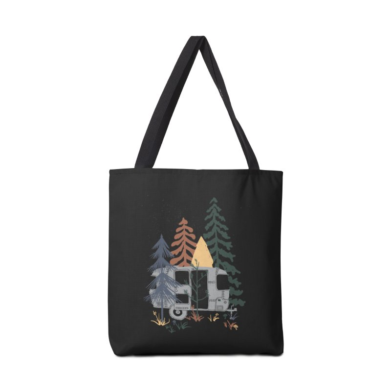 Wild Airstream... Accessories Bag by NDTank's Artist Shop