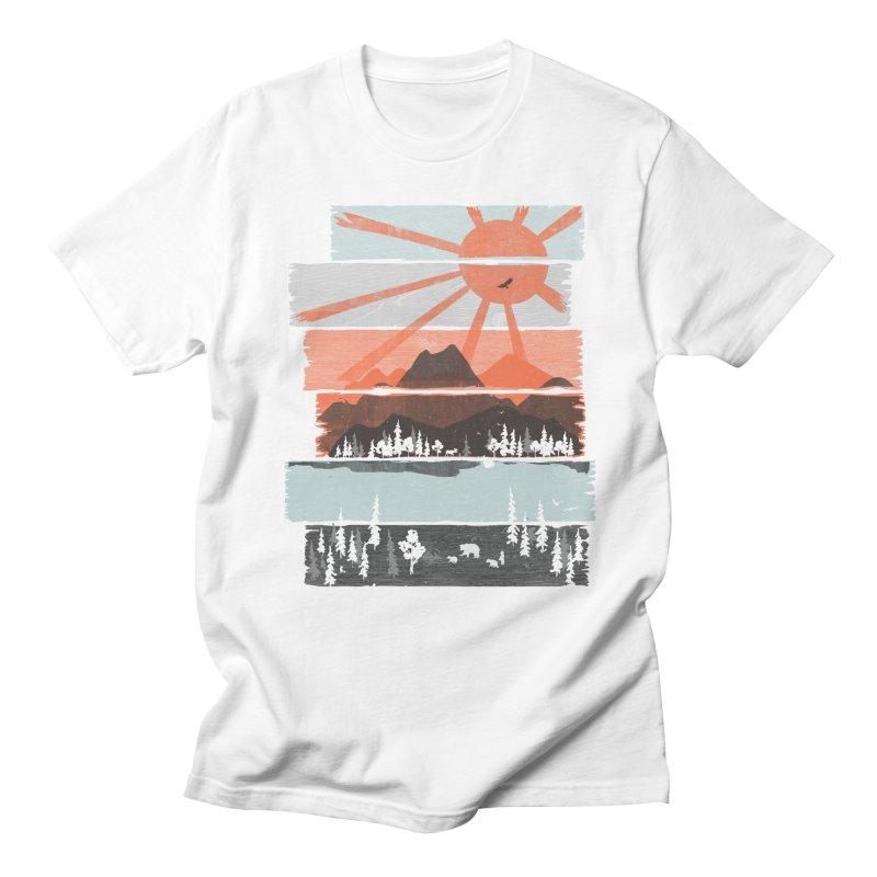 Morning by Bear River... Men's T-Shirt by NDTank's Artist Shop