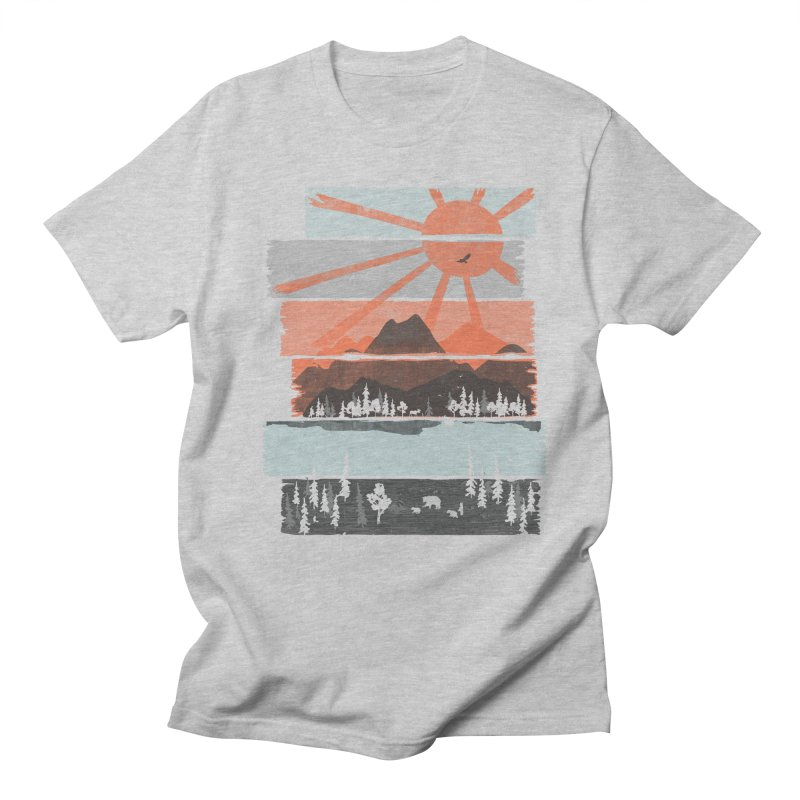 Morning by Bear River... Men's T-Shirt by NDTank's Artist Shop
