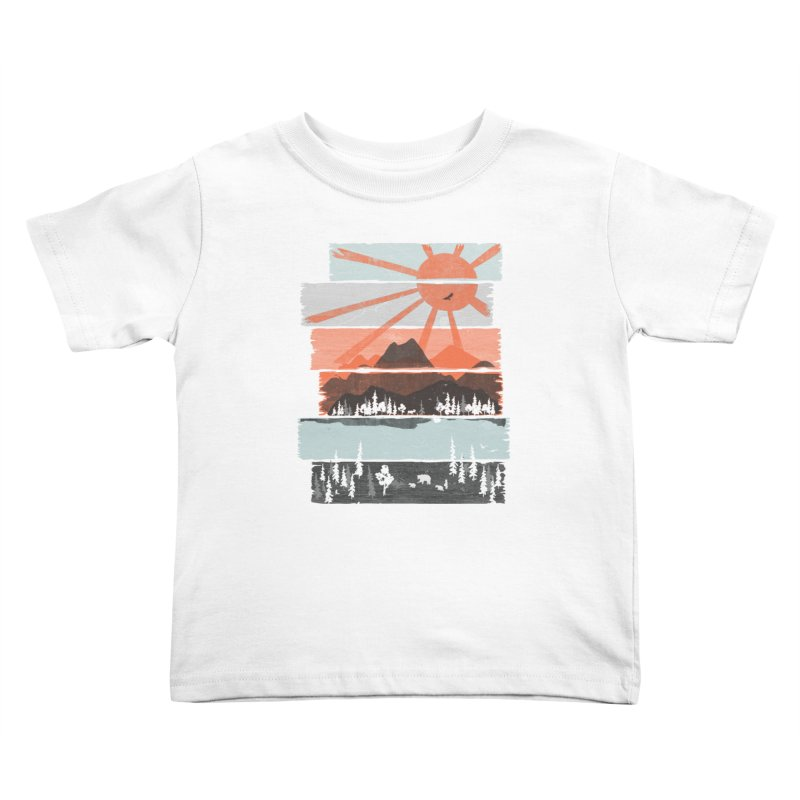 Morning by Bear River... Kids Toddler T-Shirt by NDTank's Artist Shop