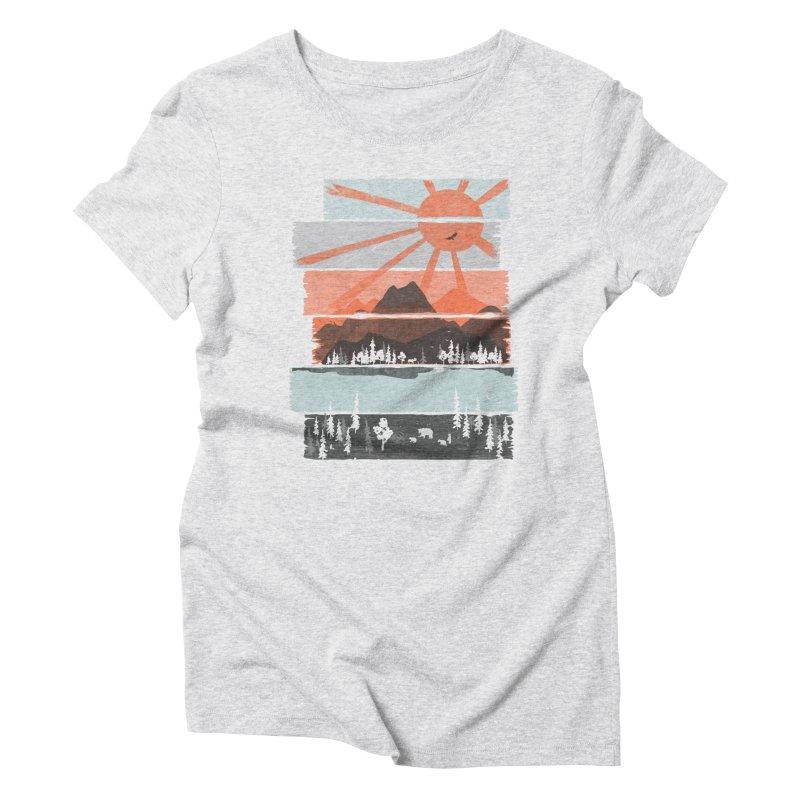 Morning by Bear River... Women's T-Shirt by NDTank's Artist Shop