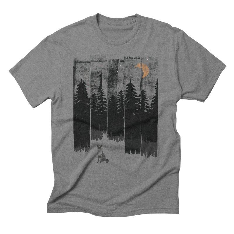 Fox in the Wild Night... Men's T-Shirt by NDTank's Artist Shop