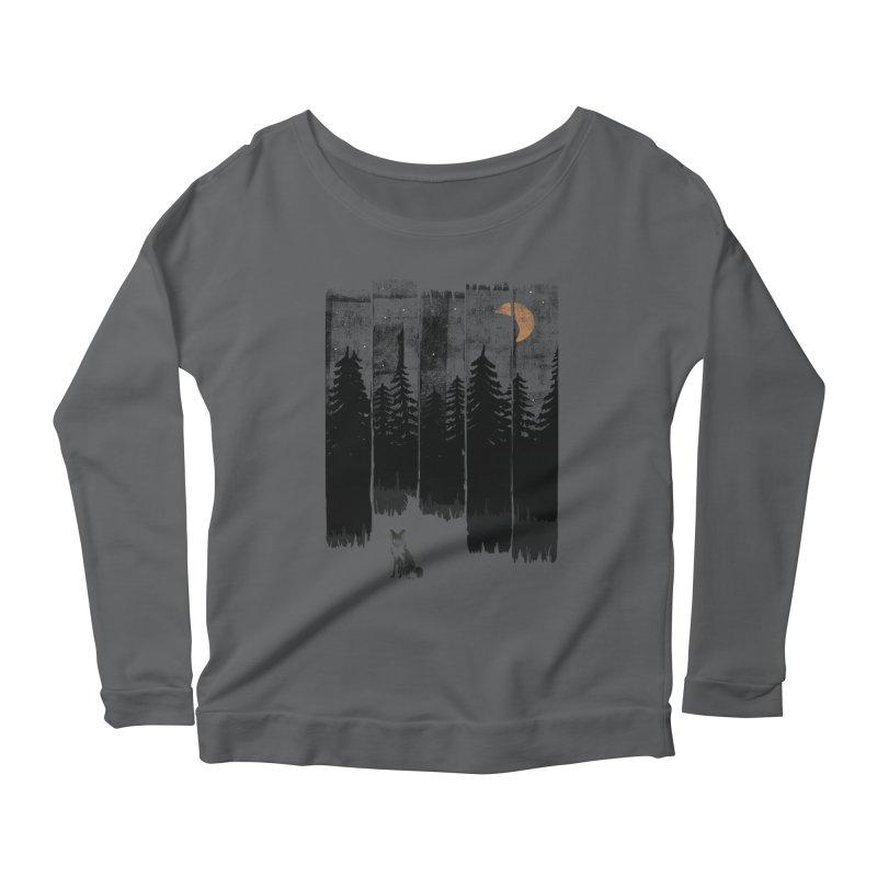 Fox in the Wild Night... Women's Longsleeve T-Shirt by NDTank's Artist Shop