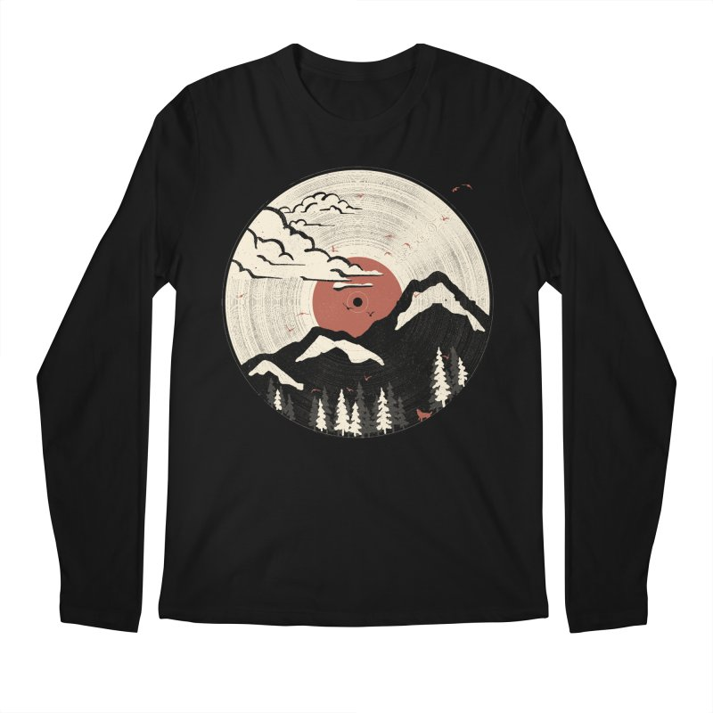 MTN LP... Men's Longsleeve T-Shirt by NDTank's Artist Shop