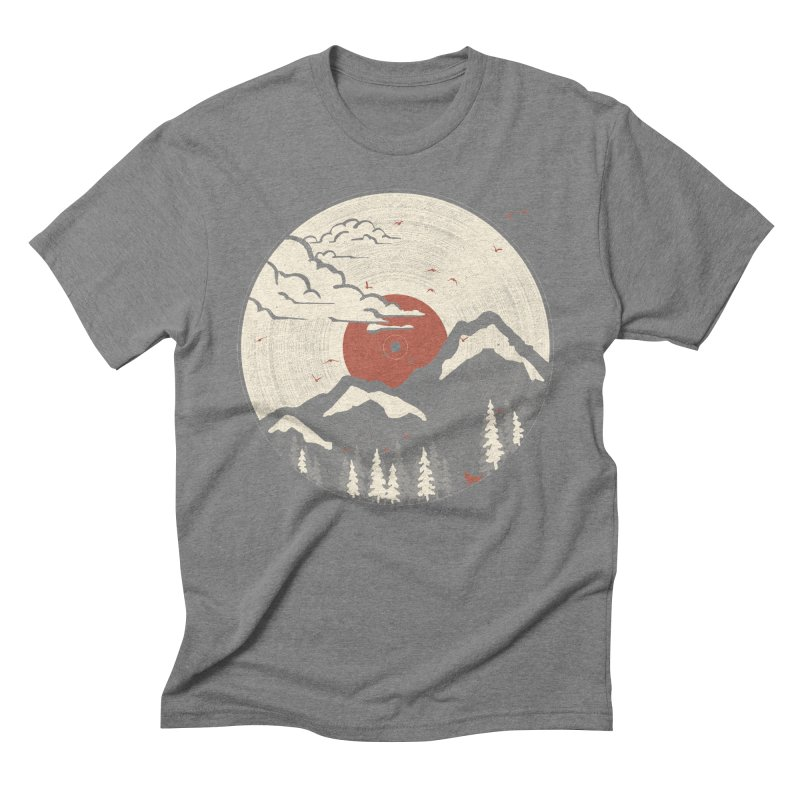 MTN LP... Men's Triblend T-shirt by NDTank's Artist Shop