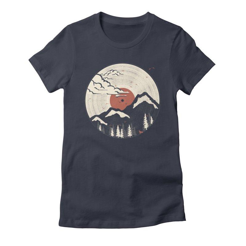 MTN LP.... Women's T-Shirt by NDTank's Artist Shop