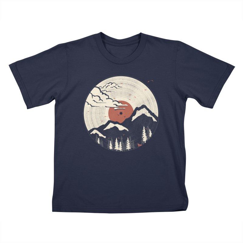 MTN LP.... Kids T-Shirt by NDTank's Artist Shop