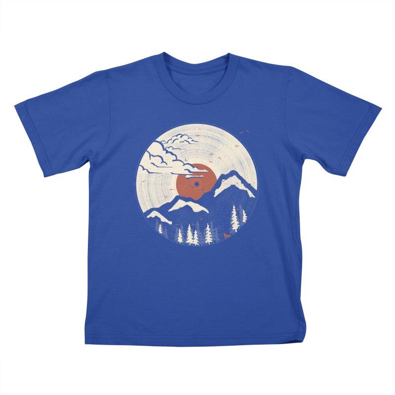 MTN LP... Kids T-shirt by NDTank's Artist Shop