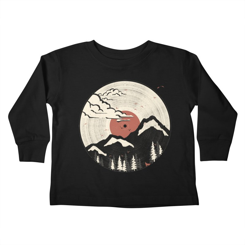 MTN LP.... Kids Toddler Longsleeve T-Shirt by NDTank's Artist Shop