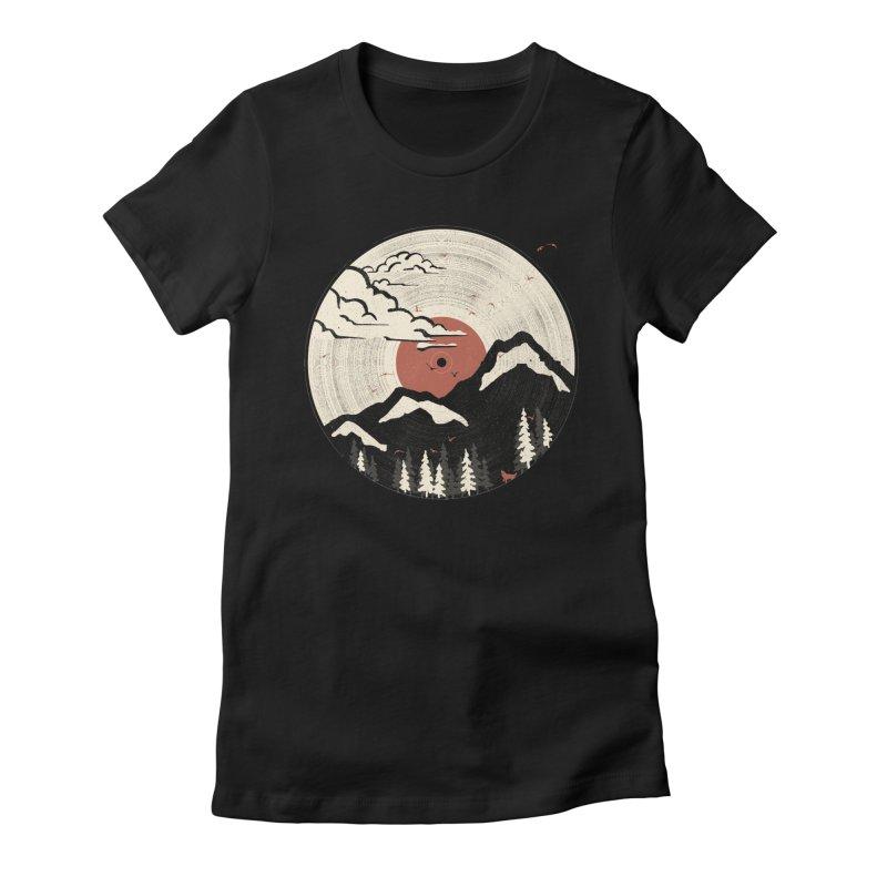 MTN LP... Women's Fitted T-Shirt by NDTank's Artist Shop