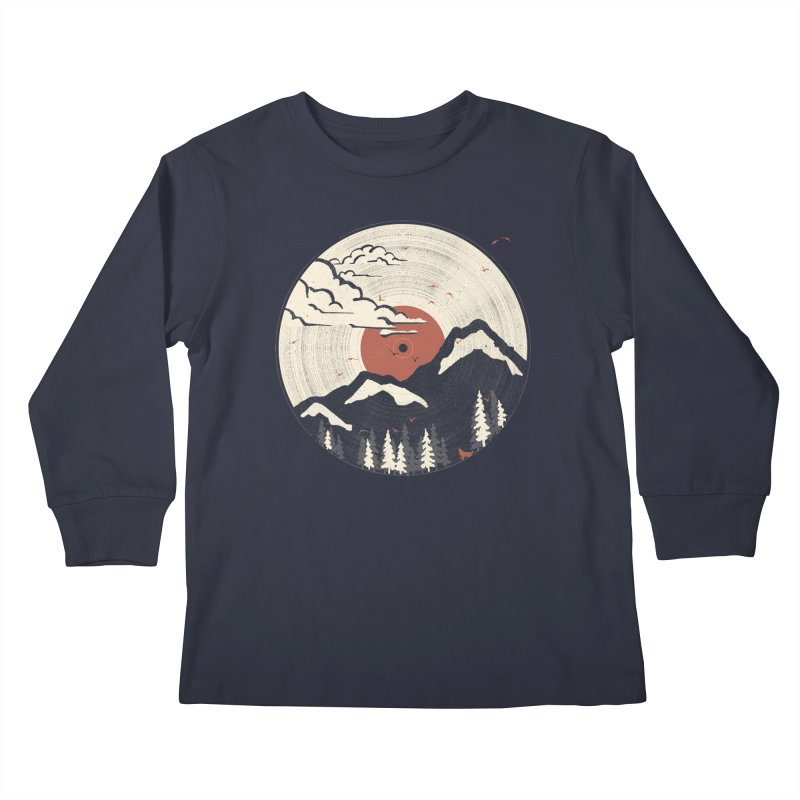 MTN LP.... Kids Longsleeve T-Shirt by NDTank's Artist Shop