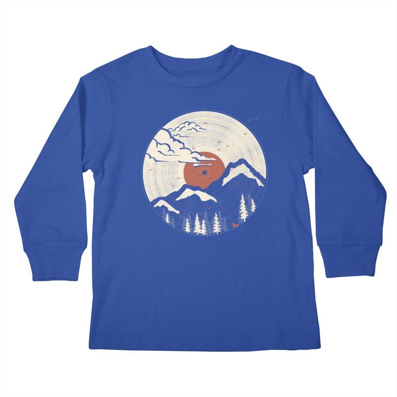 MTN LP... Kids Longsleeve T-Shirt by NDTank's Artist Shop