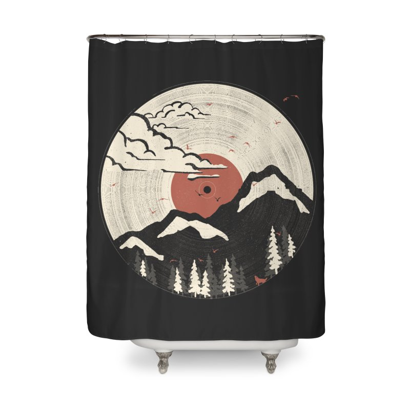 MTN LP.... Home Shower Curtain by NDTank's Artist Shop