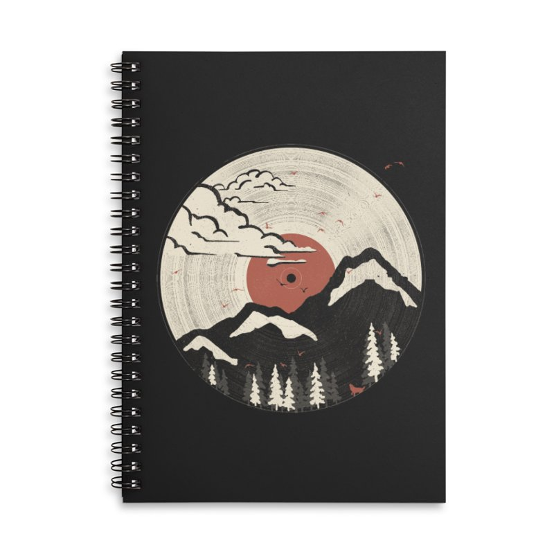 MTN LP.... Accessories Notebook by NDTank's Artist Shop