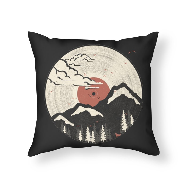 MTN LP... Home Throw Pillow by NDTank's Artist Shop