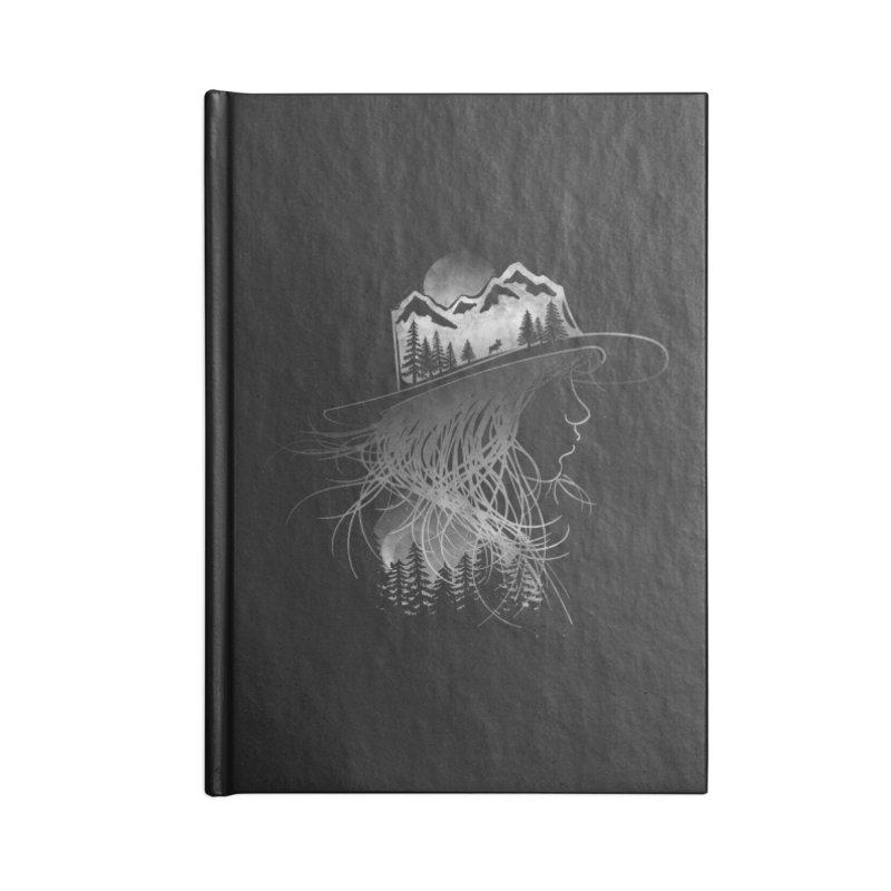 Aurora... (Black & White) Accessories Notebook by NDTank's Artist Shop