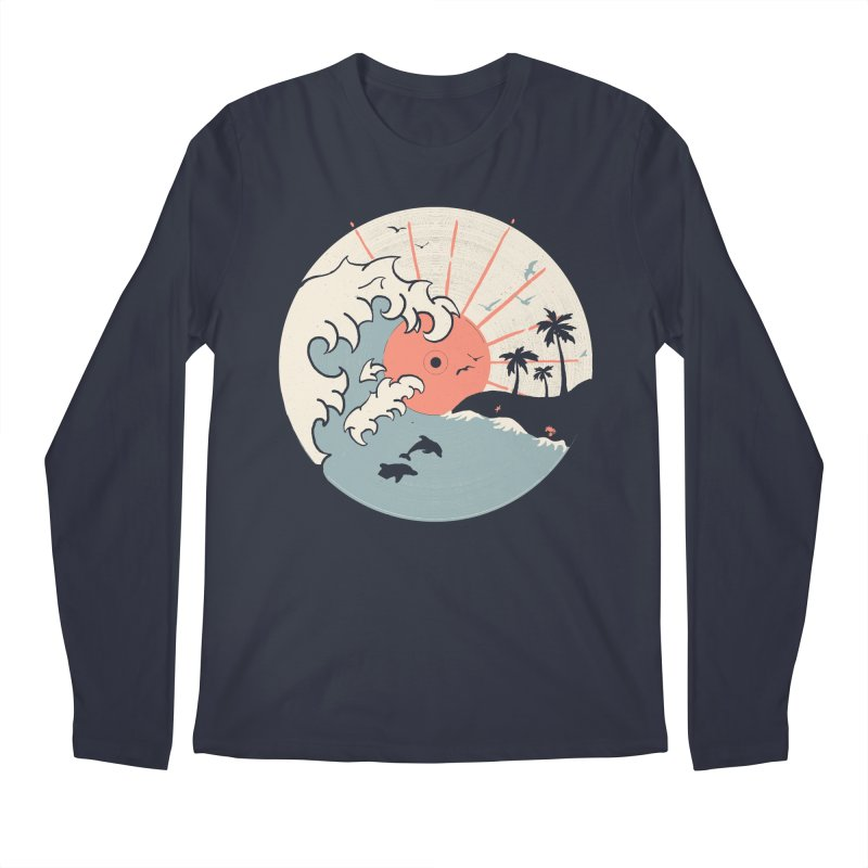 OCN LP... Men's Longsleeve T-Shirt by NDTank's Artist Shop