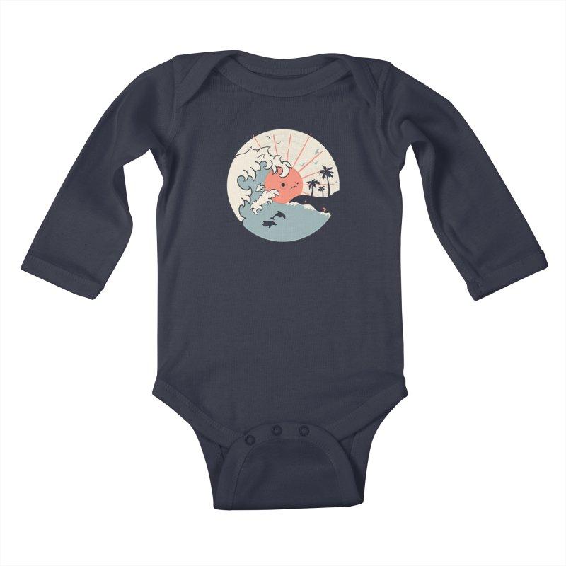 OCN LP.... Kids Baby Longsleeve Bodysuit by NDTank's Artist Shop