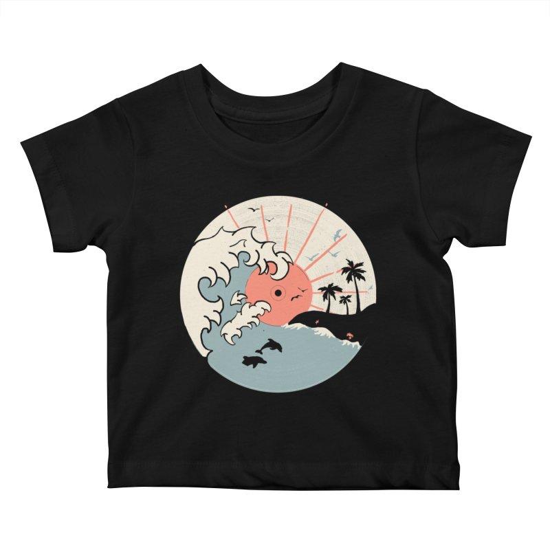 OCN LP... Kids Baby T-Shirt by NDTank's Artist Shop