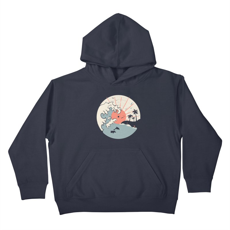 OCN LP... Kids Pullover Hoody by NDTank's Artist Shop