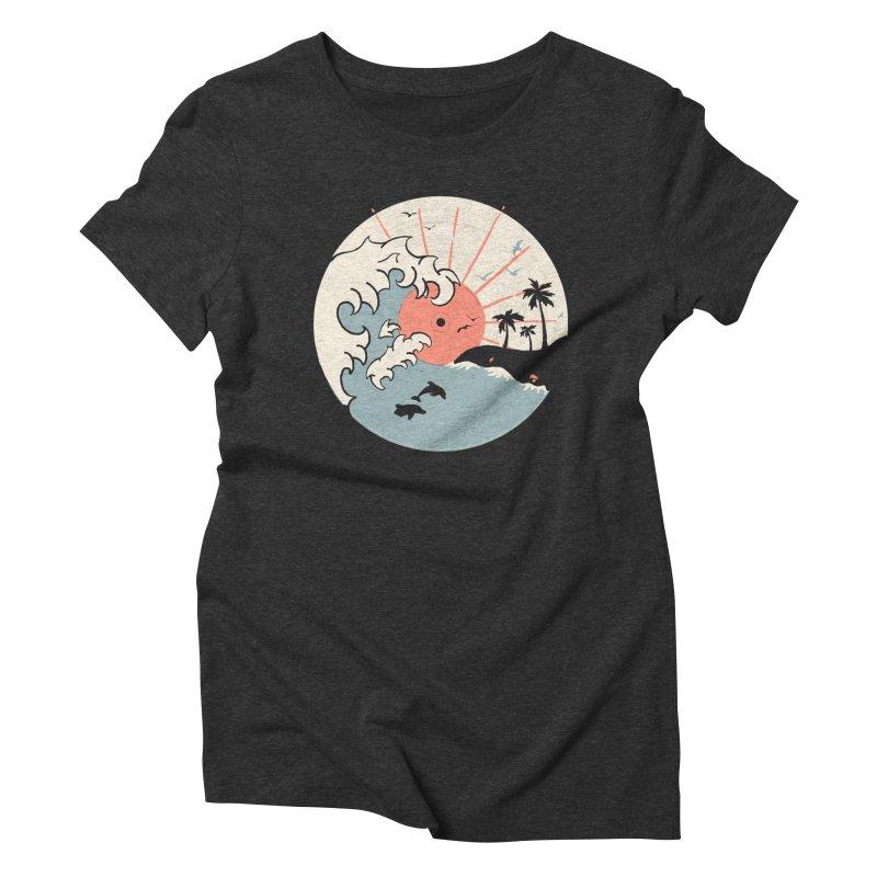 OCN LP... Women's Triblend T-shirt by NDTank's Artist Shop