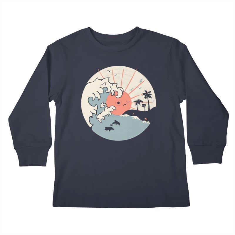 OCN LP.... Kids Longsleeve T-Shirt by NDTank's Artist Shop