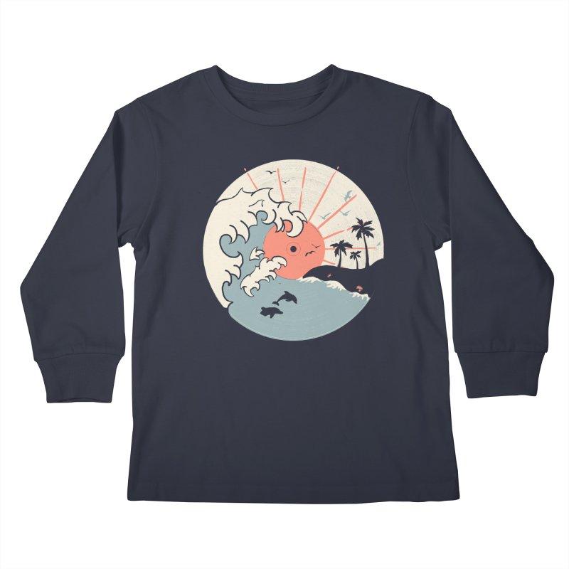 OCN LP... Kids Longsleeve T-Shirt by NDTank's Artist Shop