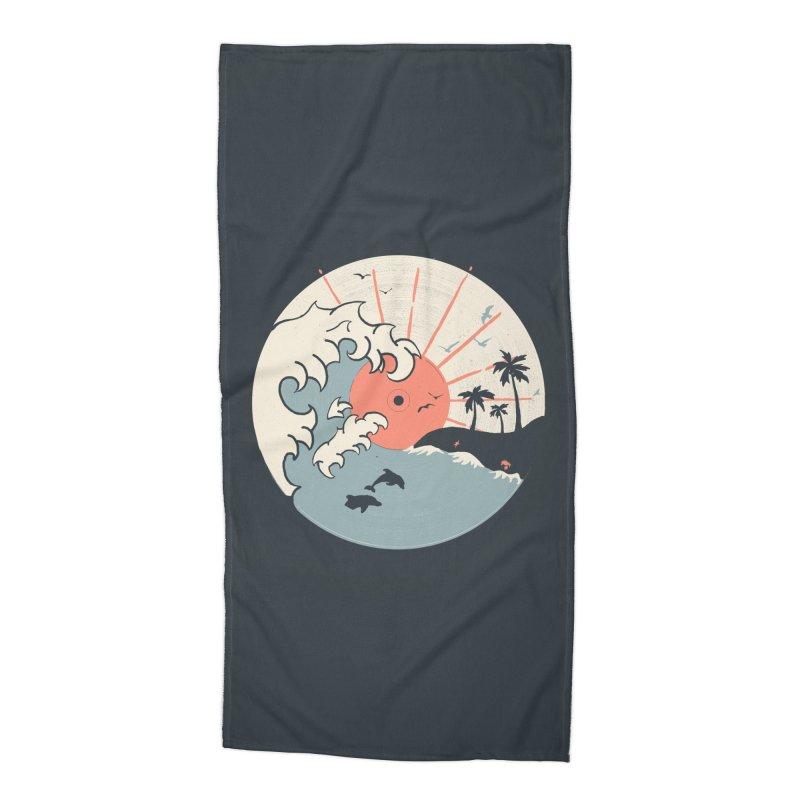 OCN LP... Accessories Beach Towel by NDTank's Artist Shop