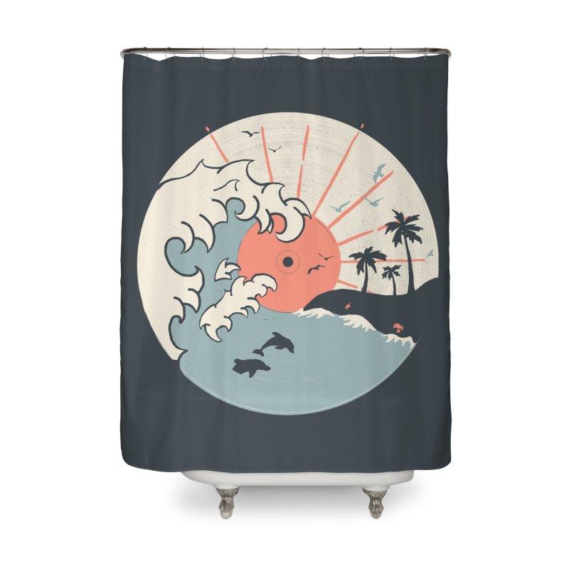 OCN LP... Home Shower Curtain by NDTank's Artist Shop