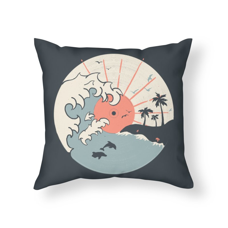 OCN LP... Home Throw Pillow by NDTank's Artist Shop