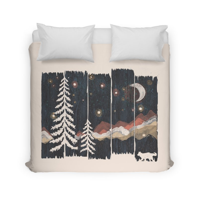 Starry Night in The Mountains... Home Duvet by NDTank's Artist Shop