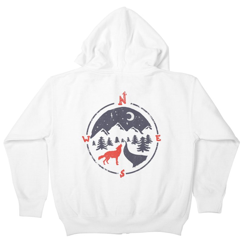 Call of the North... Kids Zip-Up Hoody by NDTank's Artist Shop