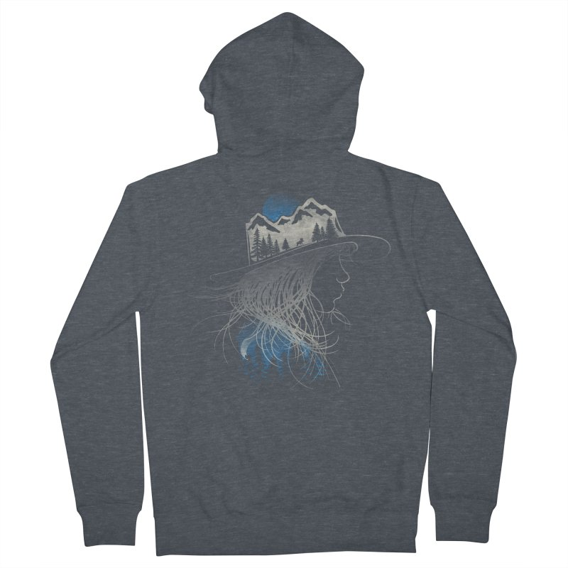 Aurora... (Blue Variant) Women's Zip-Up Hoody by NDTank's Artist Shop