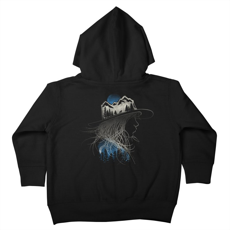 Aurora... (Blue Variant) Kids Toddler Zip-Up Hoody by NDTank's Artist Shop