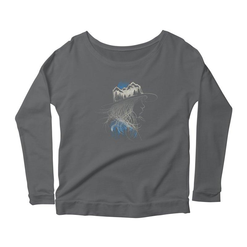 Aurora... (Blue Variant) Women's Longsleeve T-Shirt by NDTank's Artist Shop