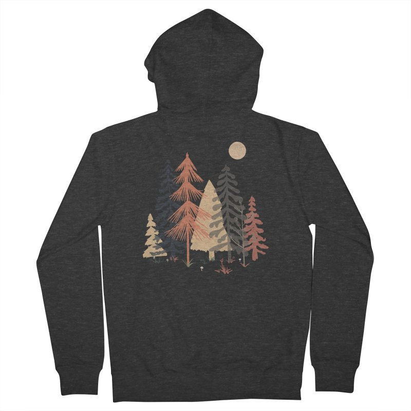 A Spot in the Wood... Women's Zip-Up Hoody by NDTank's Artist Shop