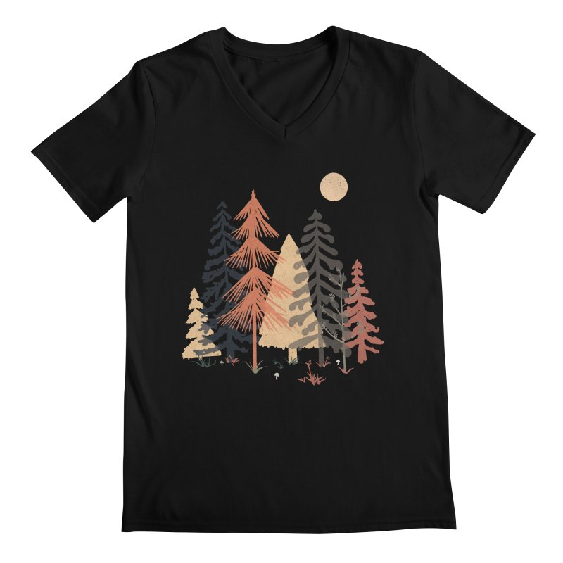 A Spot in the Wood... Men's V-Neck by NDTank's Artist Shop
