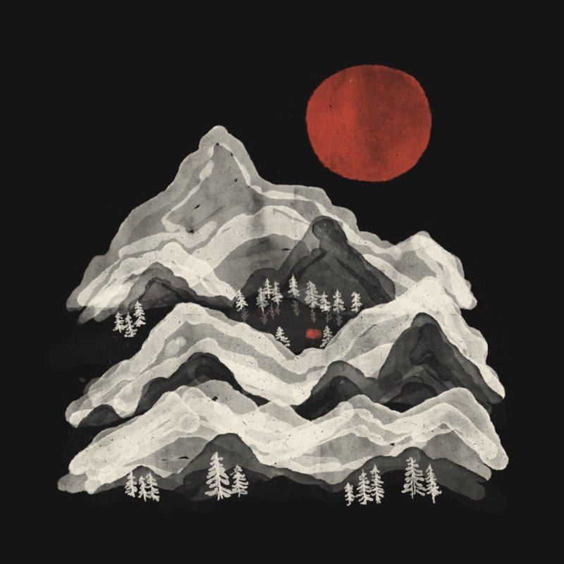 Moon Lake... Kids Baby Zip-Up Hoody by NDTank's Artist Shop