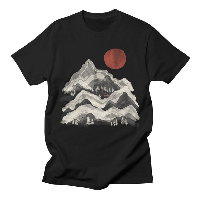 Moon Lake... Men's T-Shirt by NDTank's Artist Shop